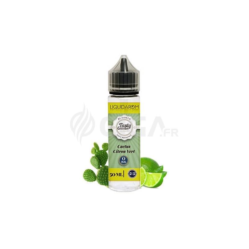 E-liquide Cactus Citron vert en 50ml de Tasty Collection de Liquidarom.