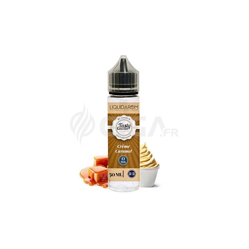 E-liquide Crème Caramel en 50ml de Tasty Collection de Liquidarom.