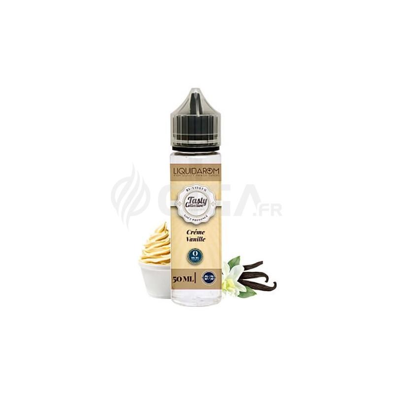 E-liquide Crème Vanille en 50ml de Tasty Collection de Liquidarom.