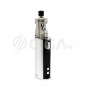 Cigarette électronique iStick T80 argent avec clearomiseur Zenith.