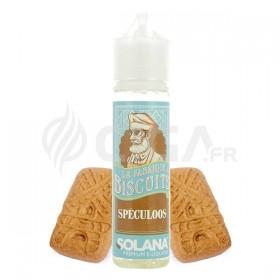 E-liquide Biscuit Spéculoos 50ml de La fabrique à biscuits de Solana.