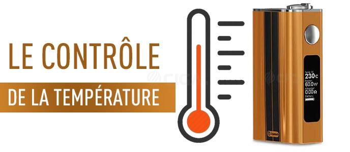 Mod électro et contrôle de la température : Comment ? Pourquoi ?