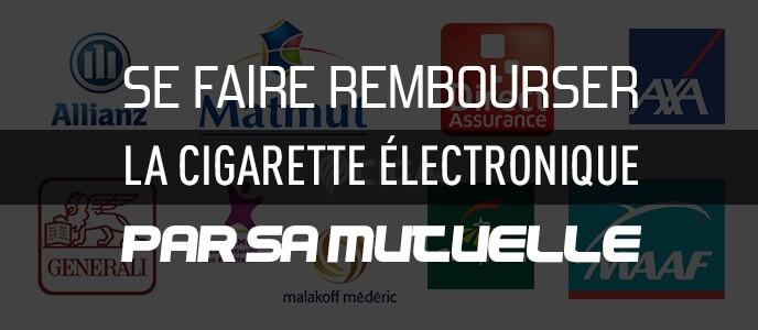Se faire rembourser la cigarette électronique par sa mutuelle