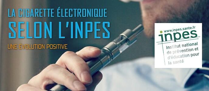 La cigarette électronique selon l'INPES : une évolution positive